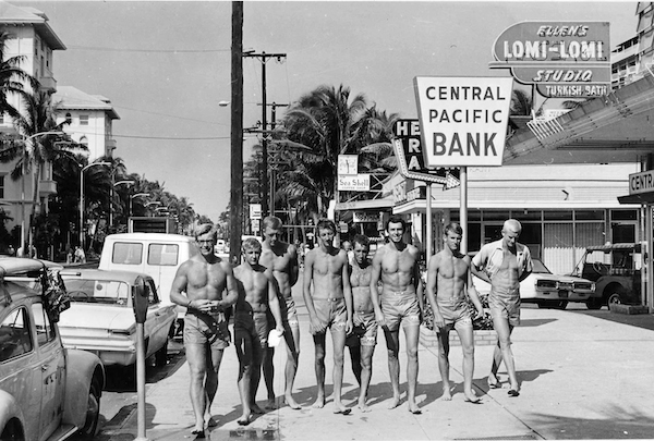 Aussies in Hawaii '62...